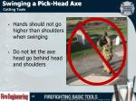 swinging a pick head axe1