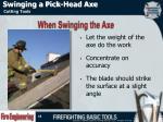 swinging a pick head axe3