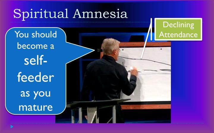 Spiritual amnesia1