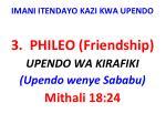 imani itendayo kazi kwa upendo11