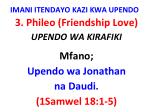 imani itendayo kazi kwa upendo13