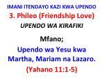 imani itendayo kazi kwa upendo14