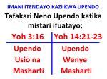 imani itendayo kazi kwa upendo2