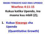 imani itendayo kazi kwa upendo36