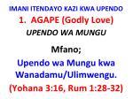 imani itendayo kazi kwa upendo5