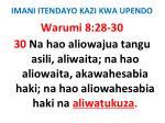 imani itendayo kazi kwa upendo59