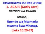 imani itendayo kazi kwa upendo6