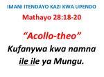 imani itendayo kazi kwa upendo63