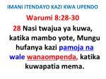 imani itendayo kazi kwa upendo68