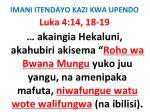 imani itendayo kazi kwa upendo72