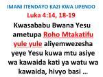 imani itendayo kazi kwa upendo75