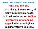 imani itendayo kazi kwa upendo78