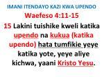 imani itendayo kazi kwa upendo81