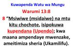 kuwapenda watu wa mungu18
