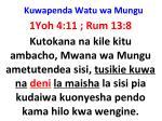 kuwapenda watu wa mungu19