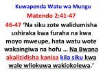 kuwapenda watu wa mungu27