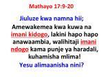 mathayo 17 9 20