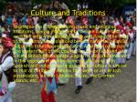 culture and traditions