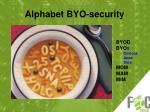 alphabet byo security