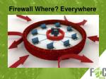 firewall where everywhere