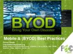 mobile byod best practices