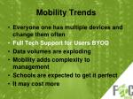 mobility trends