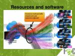 resources and software