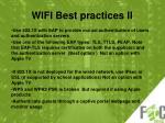 wifi best practices ii