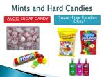 mints and hard candies