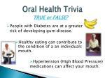 oral health trivia