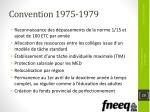 convention 1975 1979