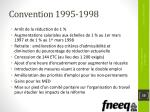 convention 1995 1998