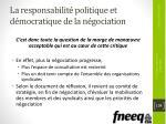 la responsabilit politique et d mocratique de la n gociation6