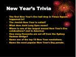 new year s trivia