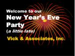 welcome to our new year s eve party a little late