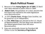 black political power