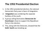 the 1952 presidential election