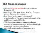 elt financescapes1