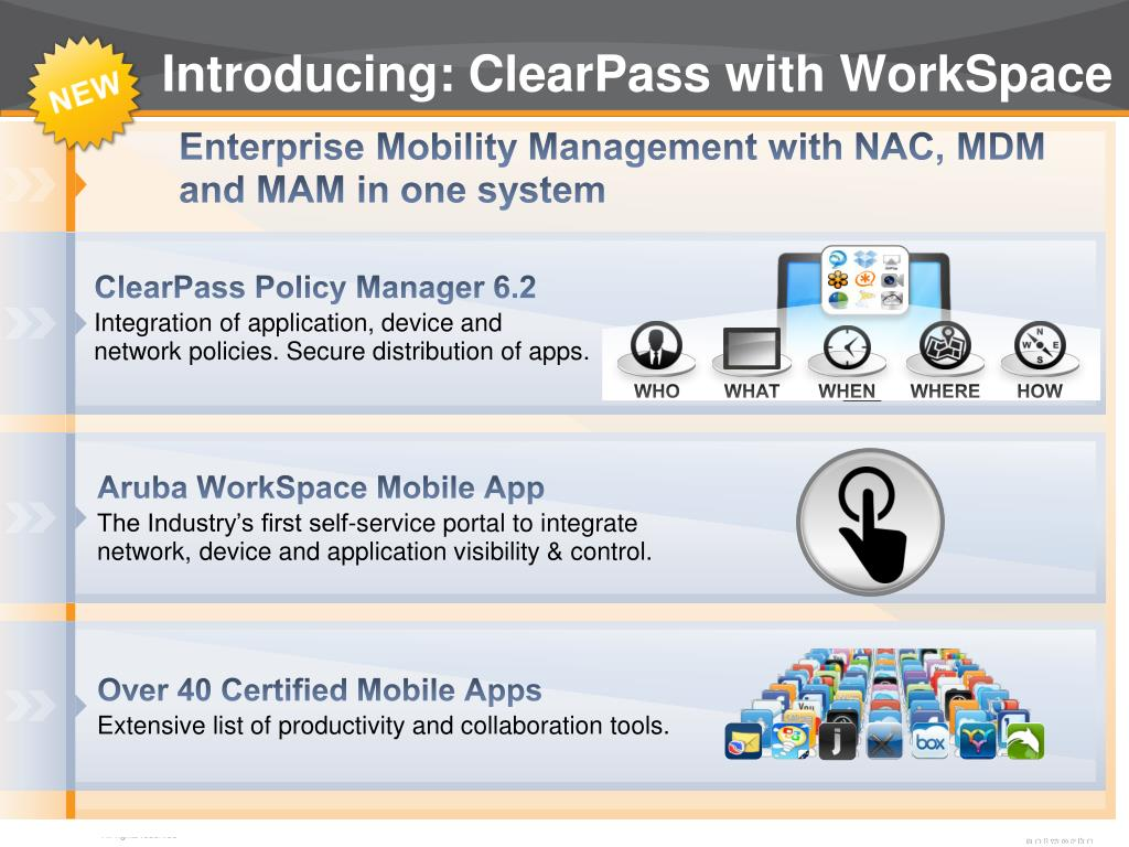 PPT - Aruba WorkSpace for ClearPass PowerPoint Presentation