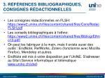 3 r f rences bibliographiques consignes r dactionnelles