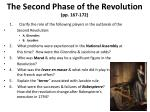 the second phase of the revolution pp 167 172