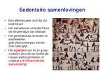 sedentaire samenlevingen1