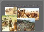 1 de tijd van jagers en boeren