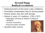 second stage radical revolution