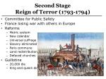 second stage reign of terror 1793 1794