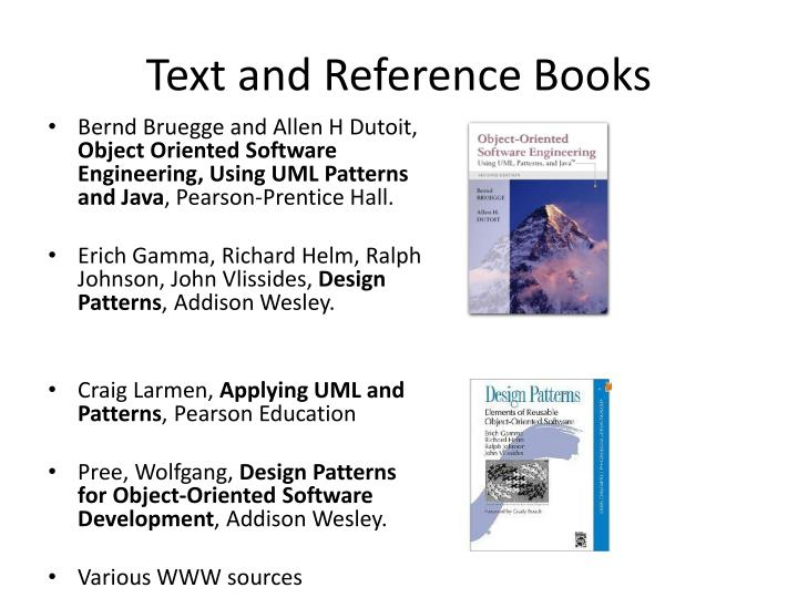 Text and Reference Books