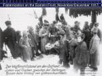 fraternization on the eastern front november december 1917