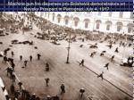 machine gun fire disperses pro bolshevik demonstrators on nevsky prospect in petrograd july 4 1917