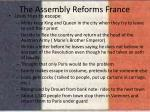 the assembly reforms france3