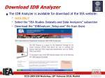 download idb analyzer